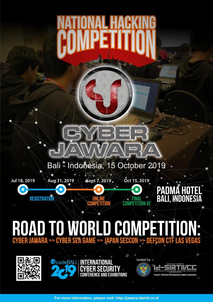 Cyber Jawara Codebali 2019