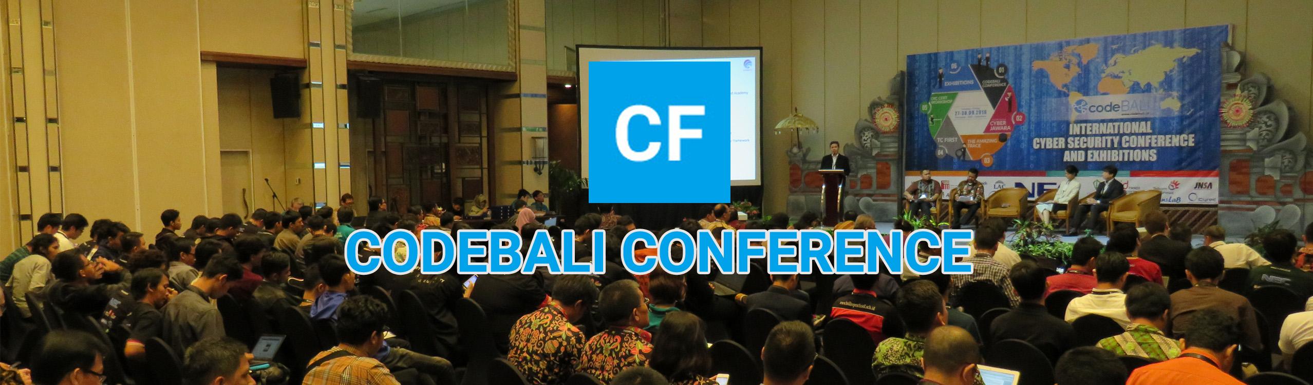CODEBALI conference